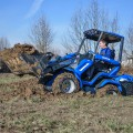 MultiOne mini loader 7 series with multipurpose bucket