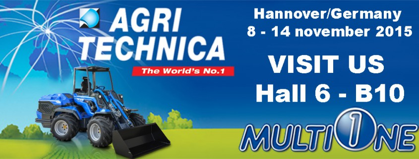 MultiOne Agritechnica 2015