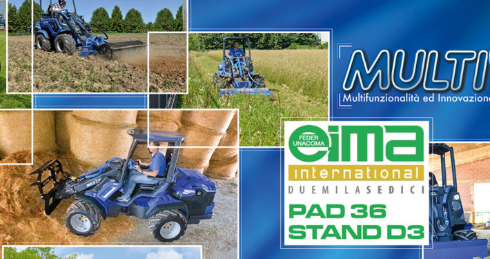 EIMA2016 - MULTIONE mini loaders